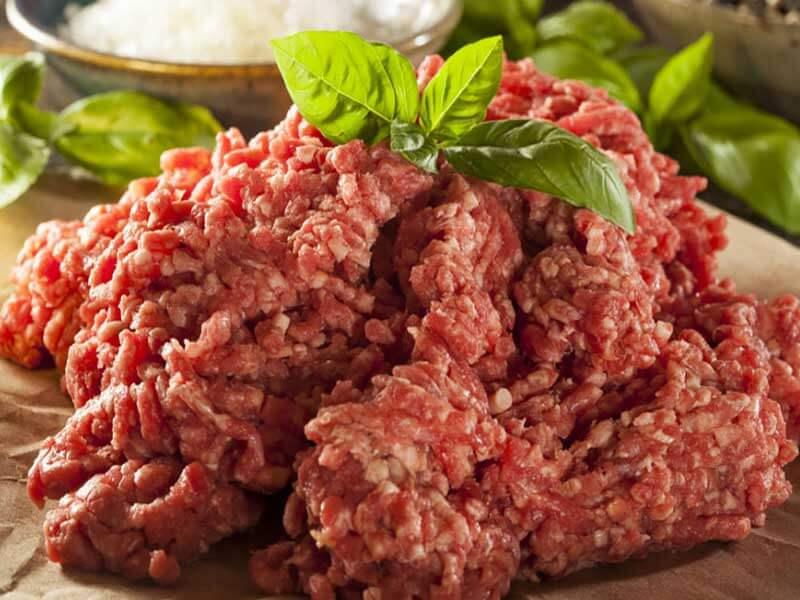 Из чего состоит мясной магазинный фарш?