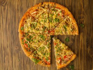Пицца с фаршем в духовке